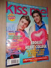 RIVISTA KISS ME! N°133 AGOSTO 2009 + 2 MEGA POSTER THE JONAS BROTHERS-LADY GAGA