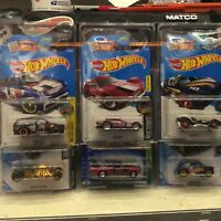 hot wheels 6 super treasure hunt lot