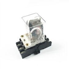 Jqx 38f 3z 40a 3pdt General Purpose Power Relay 11pin Dc12 24v Ac110 220v W Base