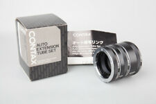 Contax Auto Extension Tube Set 13mm 20mm 27mm For C/Y Mount Lens