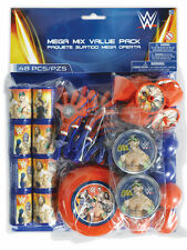 WWE Wrestling Mania Boys Birthday Party Bag Fillers - Toys Favours Puzzles 48 PK