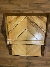 Wooden Hand Made Dog Bed