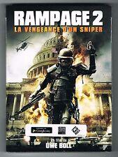 RAMPAGE 2 - LA VENGEANCE D'UN SNIPER - UWE BOLL - DVD - NEUF NEW NEU