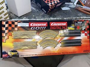 Carrera GO!!! 61643 Rally Extension Set for 1/43 slot car track, 6 pieces
