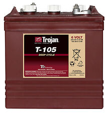 Trojan battery T105 6V 225AH  for GOLF CARTS,  accept trade-ins