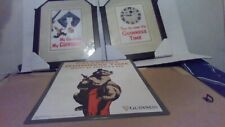 3 Lot Guinness pics 2 framed pictures & 1 metal sign Guinness Themed