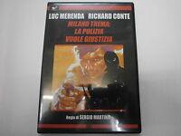 MILANO TREMA:LA POLIZIA VUOLE GIUSTIZIA-DVD ORIGINALE-visita COMPRO FUMETTI SHOP