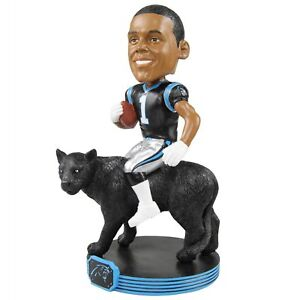 Cam Newton Carolina Panthers Riding Special Edition Bobblehead NFL