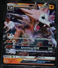 Holo Foil Lycanroc GX # SM14 Sun & Moon Black Star Promo Set Pokemon Cards HP