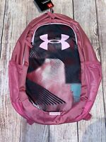 Under Armour UA Storm Scrimmage 2.0 Girls Backpack Laptop Book Bag Pace Pink
