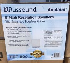 "Russound RSF-820 8"" 2-Way In-Ceiling High Resolution Speaker RSF820 ( One Pair )"
