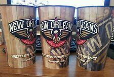 NEW ORLEANS PELICANS 2014-15 STADIUM USED SOUVENIR CUP NO TICKETS AD