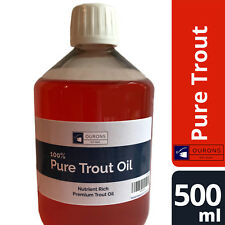500ml 100% Premium Fish Oil for Dogs Pure & Natural Trout Oil