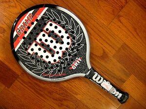Wilson Champ Platform Tennis Paddle - Brand New