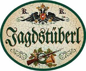 """Nostalgieschild """"Jagdstüberl"""" Jagd Stüberl jagen Schild"""