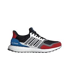 NIB ADIDAS Mens sz 9.5 UltraBOOST S&L BLACK RED BLUE EF1360 RUNNING SHOES $180