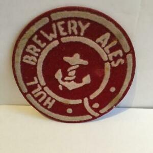 Hull Brewery Pliadek Nos. 57  1958  in RED
