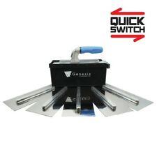 Genesis Stainless Steel Flooring Trowel Box Set 965FTS