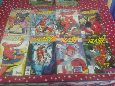 The Flash 2nd Series Lot of 8 Comic Set DC Reading Copies #2,3,4,5,6,7,8,9