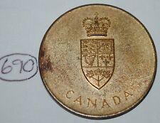Canada 1967 Confederation Medal - Token Lot #690