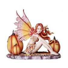Autumn Pumpkin Fairy Amy Brown fantasy art fairy collection