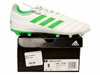 Adidas Copa 19.3 FG J Soccer Cleats White Lime F Green  Size 5 Youth D98081