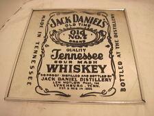 OLD VINTAGE JACK DANIELS WHISKEY OLD NO. 7 MIRROR ADVERTISING BARWARE MANCAVE