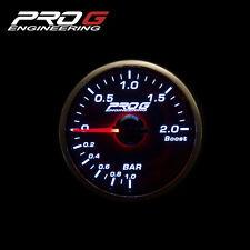 Pro G Race Series RS Gauge - Boost 2 BAR 52mm smoke (white)