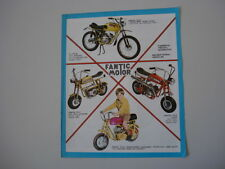 advertising Pubblicità 1970 FANTIC TX-11 FANTICHINO/TX-6/TX-7/TX-9  CABALLERO