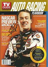 FEBRUARY 2004 TV GUIDE AUTO RACING YEARBOOK MAGAZINE KEVIN HARVICK COVER SIGNED