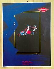 SIMS JEFF PHILLIPS SKATEBOARD AD ART MINI POSTER BBC TWS METHOD AIR