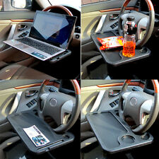 Car Laptop Stand Notebook Desk Steering Wheel Multi Tray Table Eating Table