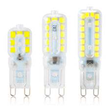 10x G9 2835 SMD Dimmable 5W 8W 12W Transparent Cápsula Bombilla LED Luz Lámpara