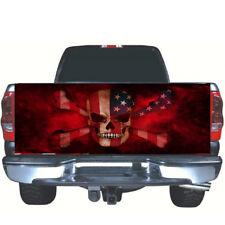 1PC DIY Pickup Rear Tailgate Skull Vinyl Graphics Decal Waterproof Decor Sticker