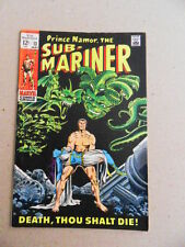 Sub - mariner 13 . Marie Severin - Marvel 1969  -   FN  +