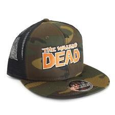 THE WALKING DEAD Camo Trucker Hat