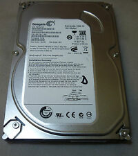 "160GB Seagate Barracuda ST3160318AS 9SL13A-300 F/W:CC34 3.5"" SATA Hard Drive"