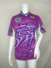Voler Cycling jersey large short sleeve shirt L purple Made In Usa