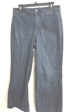 Not Your Daughter's Jeans  (NYDJ) Women's Dark Wash Stretch Bootcut Jeans Size 8