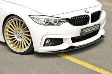 Rieger Spoilerlippe BMW 4er F32/F33/F36  Schwarz gl?nzend / NEU / RIEGER-Tuning