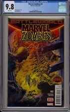 MARVEL ZOMBIES #2 - CGC 9.8 - 0313681012