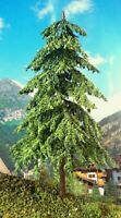 "Scale model Fir trees 6"" 6pcs Coniferous for Wargaming-Model Railroads-Dioramas"
