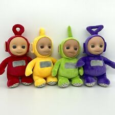 """Set of 9"""" Teletubbies Talking Soft Toy Tinky Winky Dipsy Lala Po 2017 Edition"""