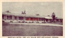 KNOB HILL MOTEL U.S. 150, NEW ALBANY, IN. Mr & Mrs Wm J Miller, owners