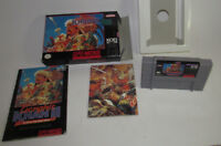 Genghis Khan 2 II: Clan of the Gray Wolf (Super Nintendo) SNES Complete CIB VGC