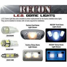 RECON 264166 05-13 Ford Mustang Dome White Bulb LED