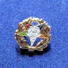 Masonic Lapel Pin Oes Wreath Collectible Rare 14th Degree
