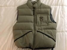 NAPAPIJRI ANTARTIC RESEARCH PROGRAM Small PUFFER VEST Gillet MADE IN ITALY