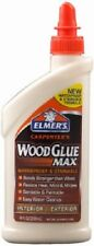 (12) Elmer's E7300 8 oz Stainable Waterproof Carpenters Indoor/Outdoor Wood Glue