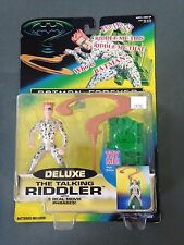 1995 Hasbro Kenner Batman Forever Deluxe The Talking Riddler Action Figure